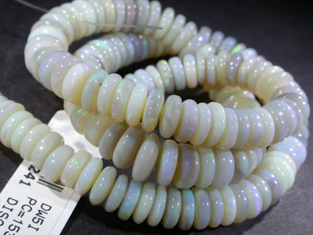 153.64 CTS QUALITY  OPAL BEADS -  [SO1655]