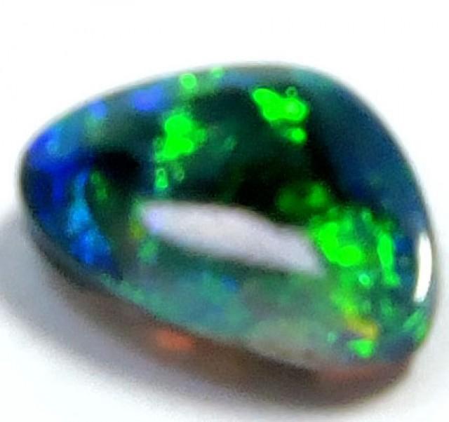 0.50 Cts  Freeform Black Opal QOM 1318