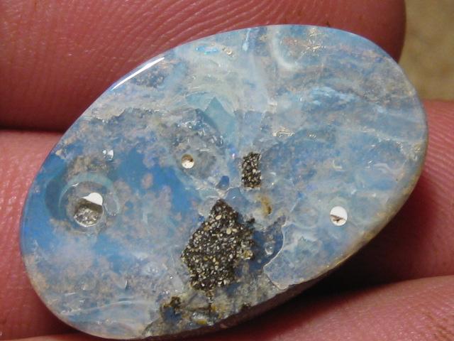 YowahOpals* 29.40Cts - 'Un-Drilled'  Boulder Opal.