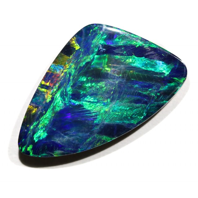 3.67 CTS QUALITY GEM DOUBLET  [Q1368] SAFE