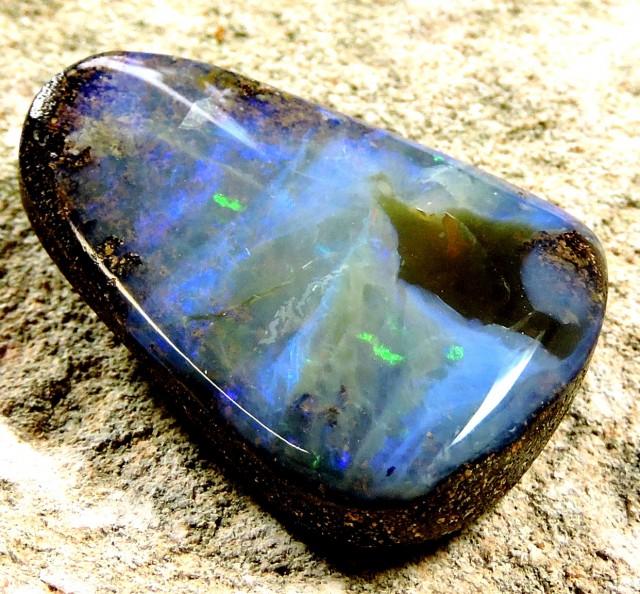 32.6 Cts Character   Boulder Opal  Pl  1140
