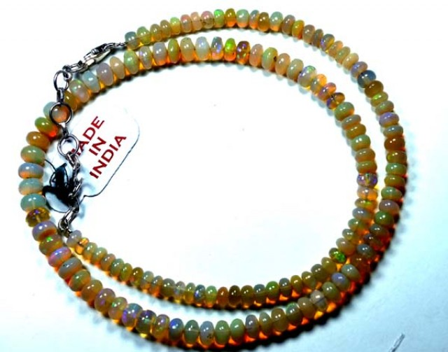 53   CTS ETHIOPIAN OPAL BEADS DRILLED  FOB-146