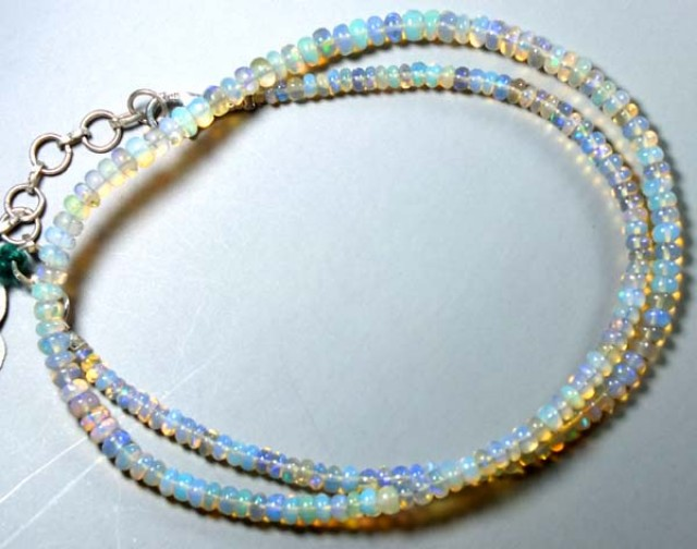32   CTS  ETHIOPIAN OPAL BEADS DRILLED    FOB-157