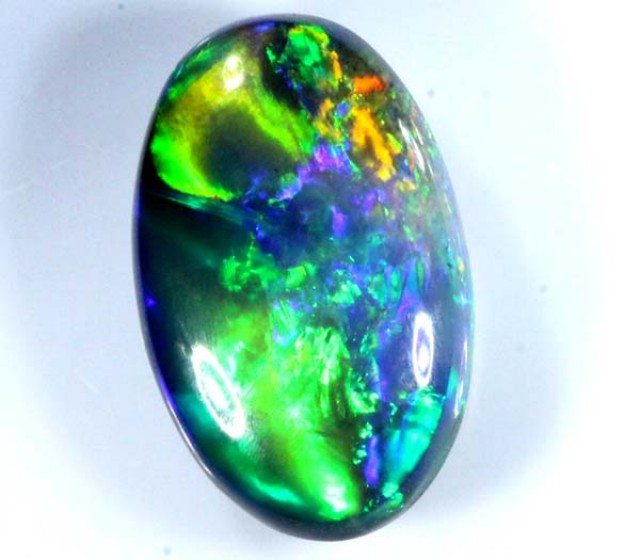 QUALITY BLACK SOLIDOPAL LIGHTNINGRIDGE 2.20  CTS JJ-5
