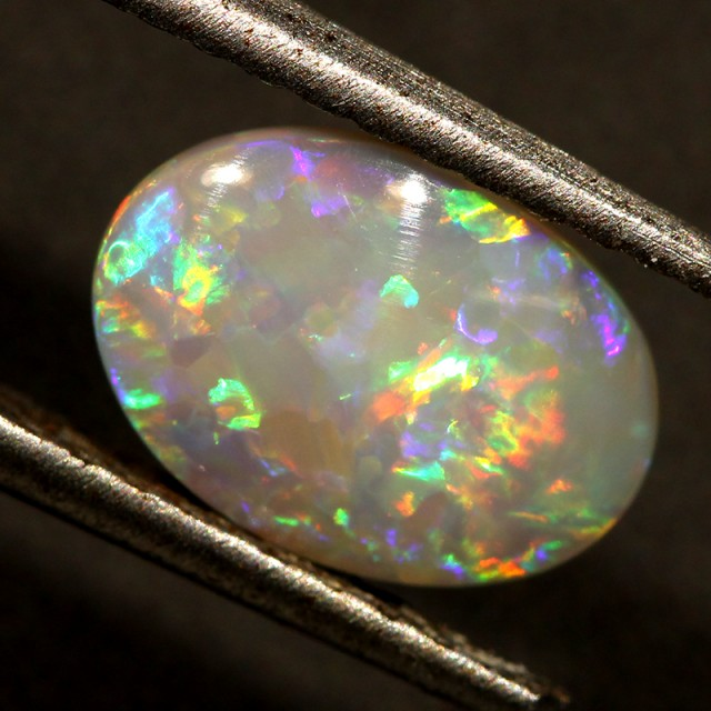 1.51 CTS SOLID DARK OPAL LIGHTNING RIDGE [Q1505