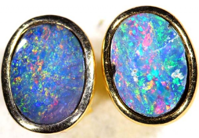 OPAL EARRINGS 6.0   CTS    OF-350