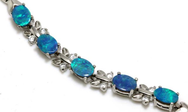 OPAL INLAY BRACELET 49.5 CTS OF-382
