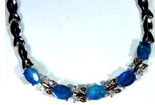OPAL INLAY BRACELET 49.5 CTS OF-384