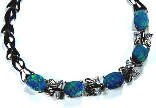 OPAL INLAY BRACELET 49.0 CTS OF-385