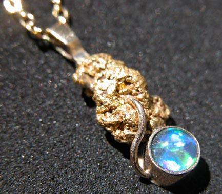 YOWAHOPALS*2.29Grm  - Australian Gold / Opal -