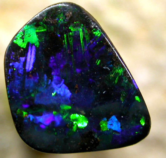 1.08 CTS BOULDER OPAL   FROM THE HAYRICKS MINE [BMA 6 ]