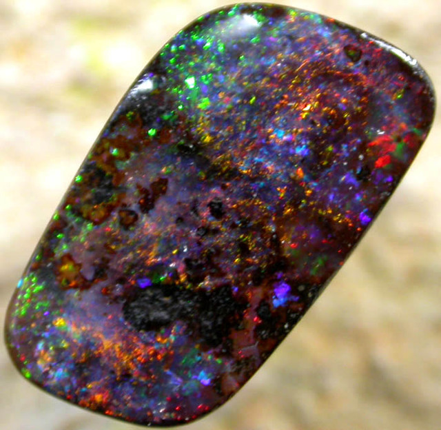 2.29 CTS BOULDER OPAL   FROM THE HAYRICKS MINE [BMA 42 ]
