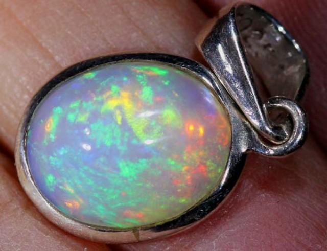 Ethiopian opal pendant 740 cts of 429 mozeypictures Choice Image