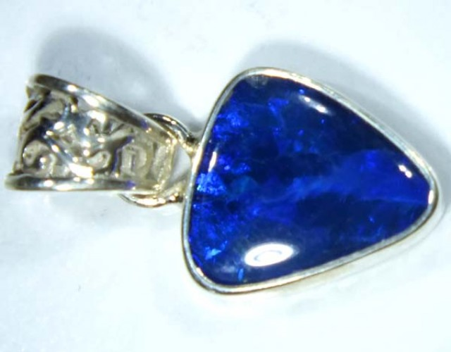 DOUBLET OPAL SILVER PENDANT 9.7  CTS   OF-485