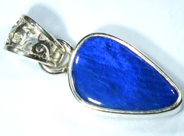 DOUBLET OPAL SILVER PENDANT 7.8  CTS   OF-486