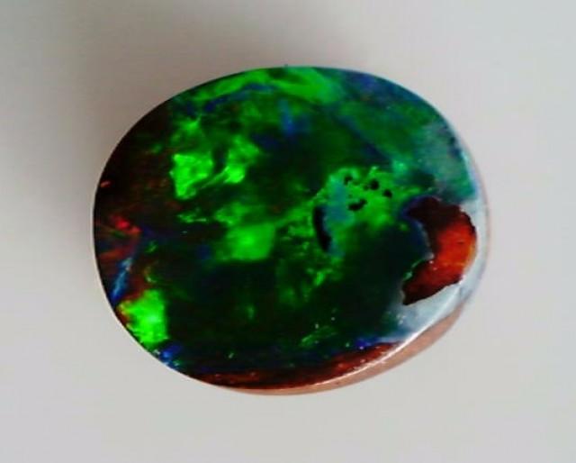 .90ct Pretty colorful Oval Boulder Opal, WInton, Australia ST86