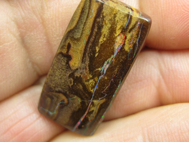C/O.24cts,FROM OUR MINES! BOULDER MATRIX OPAL.