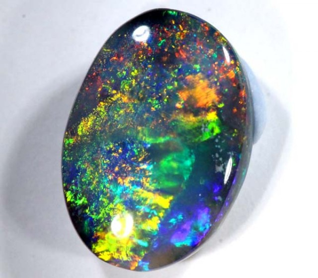 QUALITY BLACK SOLIDOPAL LIGHTNINGRIDGE  2.60 CTS JJ-22