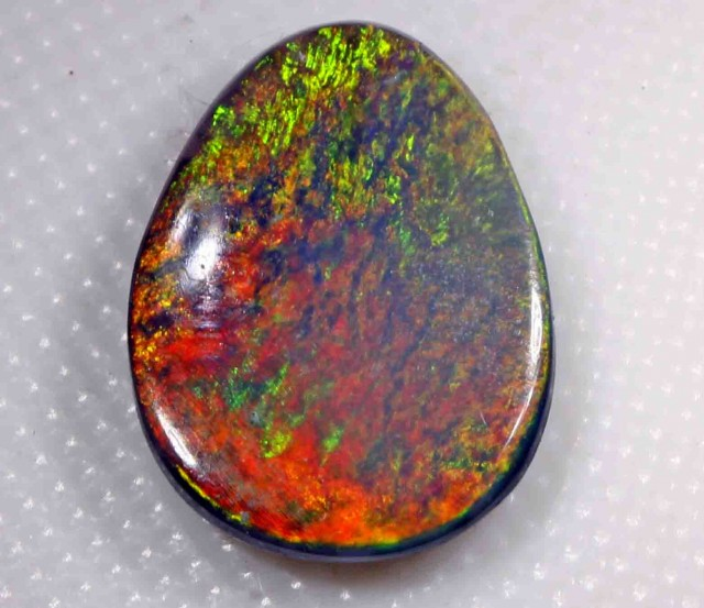 FREE SHIPPING  2.05 CTS BLACK OPAL