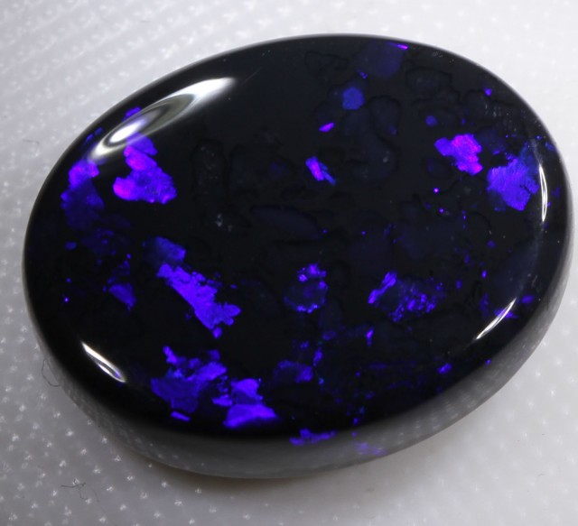 FREE SHIPPING  11.10 CT BLACK OPAL   NICE STONE