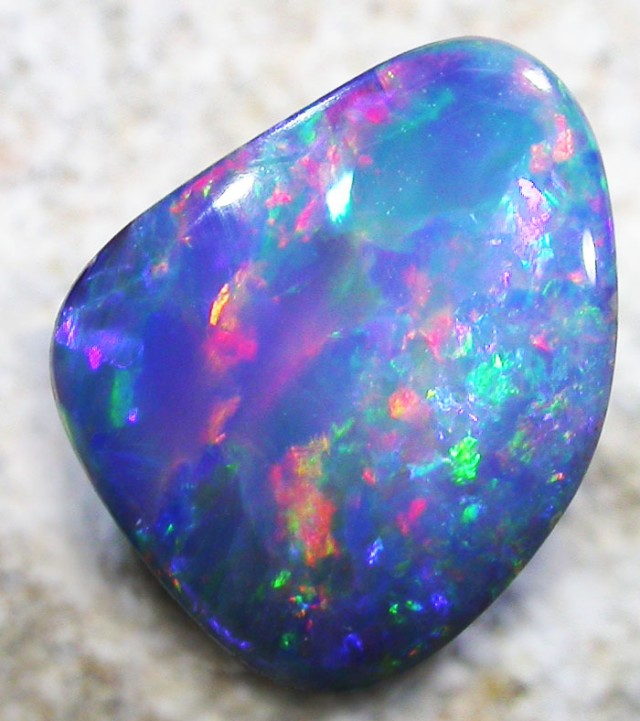 2.2 CTS OPAL SHELL FOSSIL DOUBLET  [SO3273]