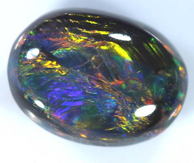 QUALITY BLACK SOLIDOPAL LIGHTNINGRIDGE  1.40  CTS JJ    A-7