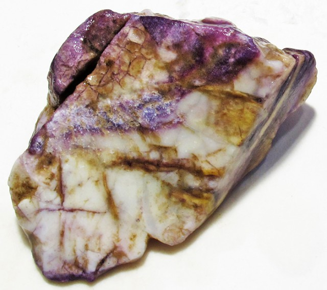 70.5 CTS OPAL FLUORITE ROUGH 'TIFFANY STONE' [DT3063]