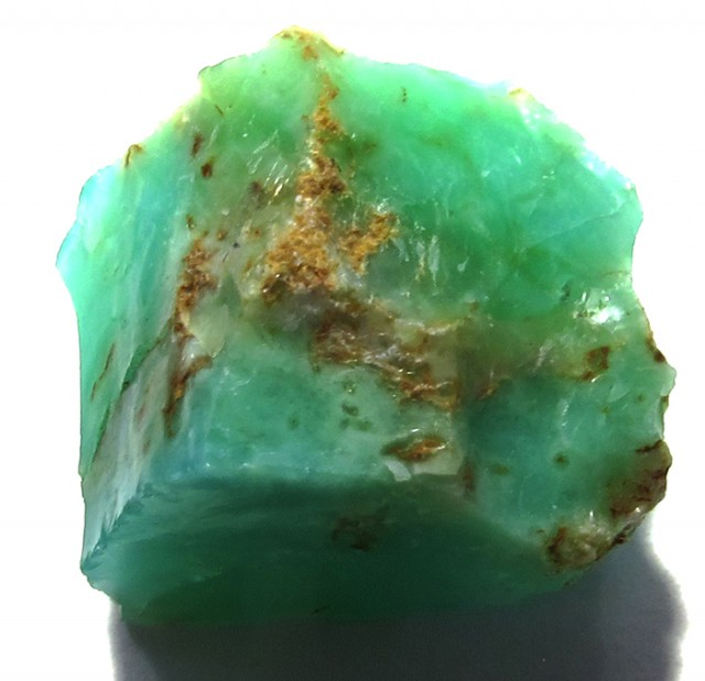 18.6 CTS GREEN OPAL ROUGH TANZANIA   DT-3136