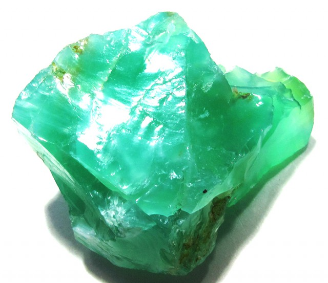 25 CTS GREEN OPAL ROUGH TANZANIA   DT-3154