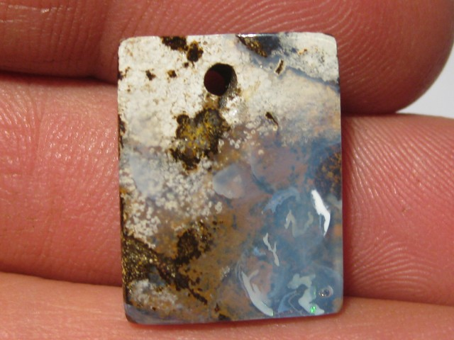OpalWeb - Drilled Opals from Winton - 18.75Cts -