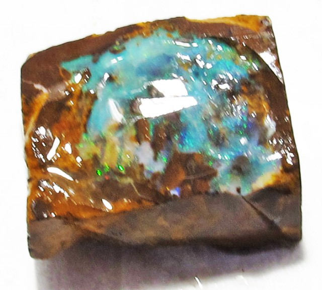 BOULDER OPAL ROUGH  22.8 CTS DT-3174