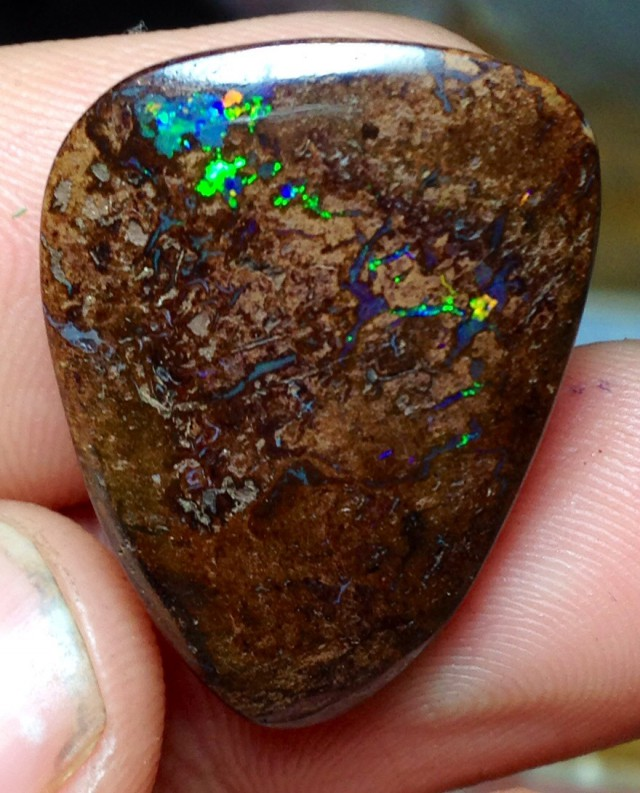 BARGAIN BUY IT NOW Boulder Opal Picture Stone AA176 29cts
