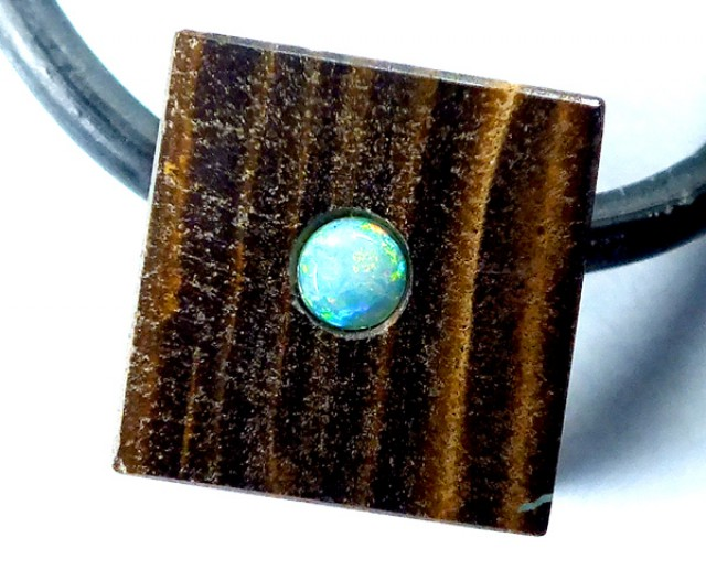 OPAL INLAY NECKLACE   20 CTS  LO-1063