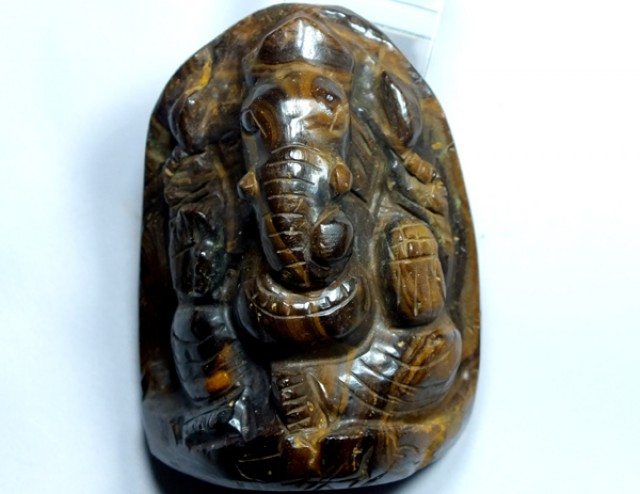 GANESH GOD OPAL CARVING  415 CTS LO-1079
