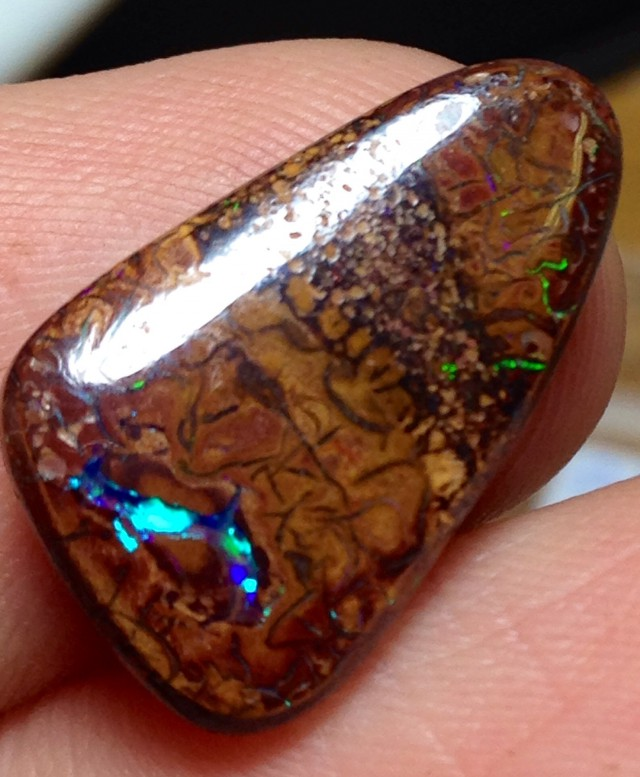 BARGAIN BUY IT NOW Boulder Opal Picture Stone AA405 7.5cts