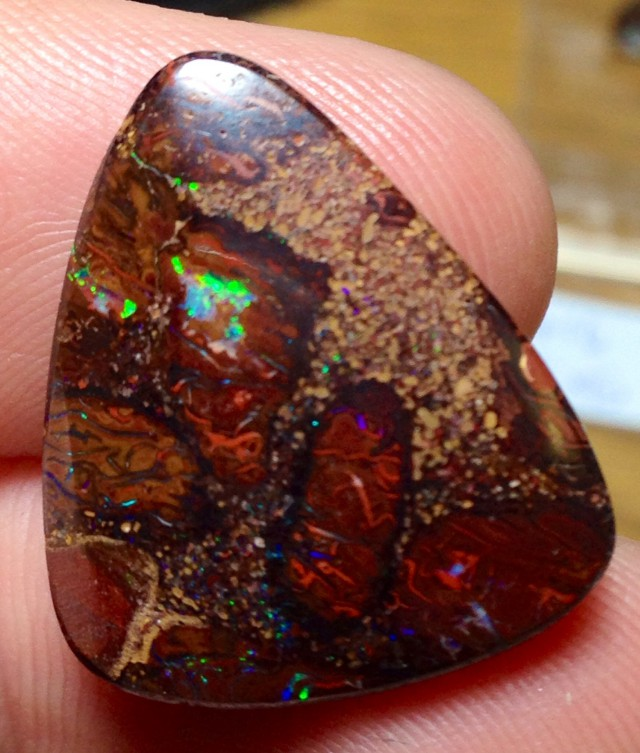 BARGAIN BUY IT NOW Boulder Opal Picture Stone AA415 18.5cts