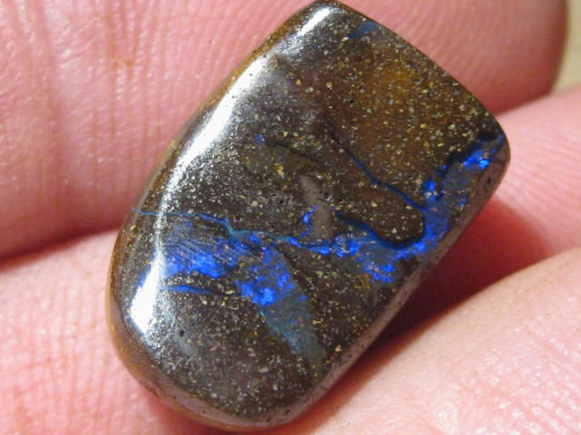 OpalWeb - Drilled Boulder Opals from Koroit - 16.6Cts -