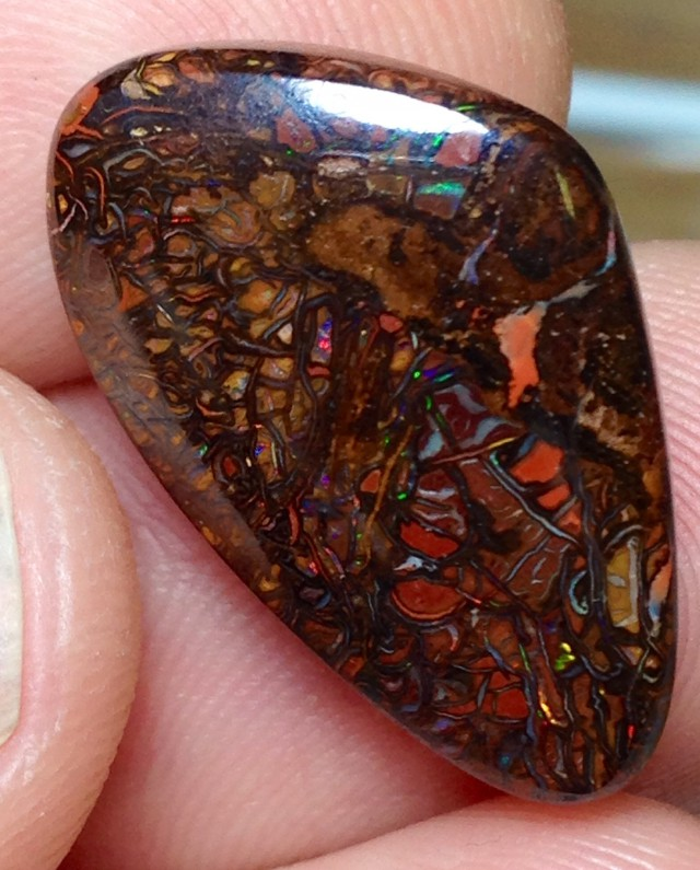 BARGAIN BUY IT NOW Boulder Opal Picture Stone AA458 17.5cts