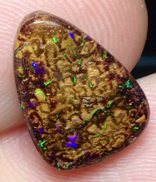 BARGAIN BUY IT NOW Boulder Opal Picture Stone AA510 6cts