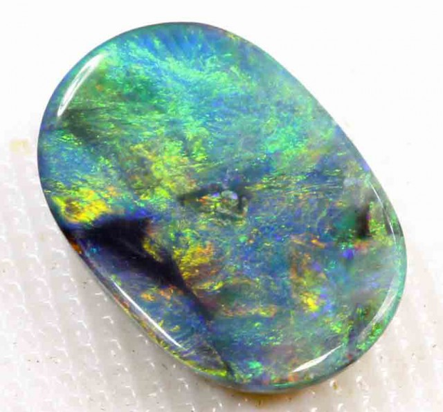 FREE SHIPPING  3.95 CT BLACK OPAL FROM LR  FREE SHIPPING