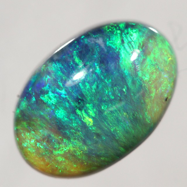 2.93cts Bright Crystal Opal Fro Lightning Ridge (R2356)