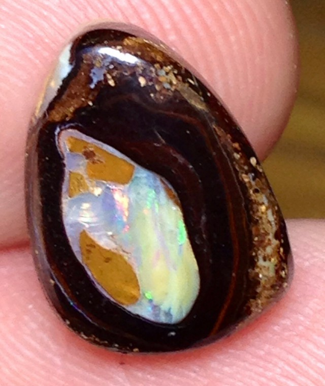 BARGAIN BUY IT NOW Boulder Opal Picture Stone AA662 8cts