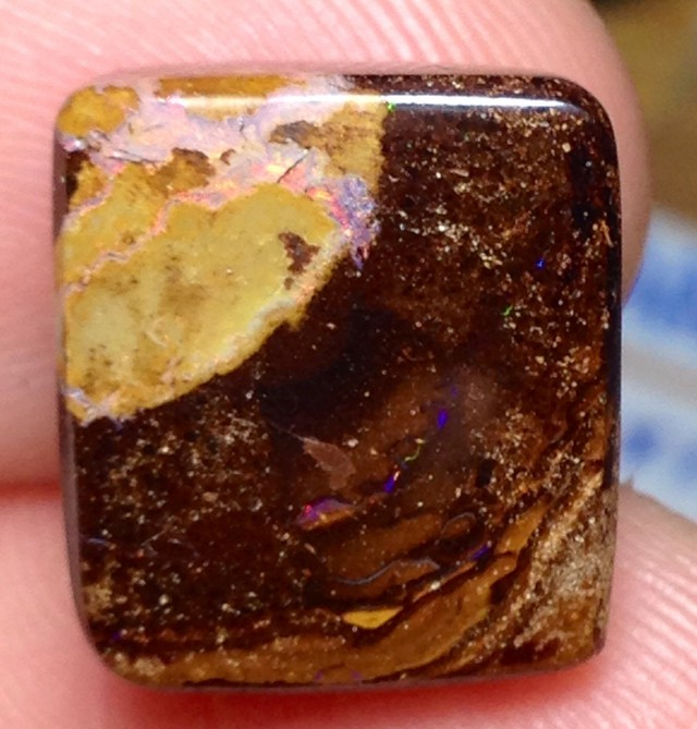 BARGAIN BUY IT NOW Boulder Opal Picture Stone AA679 14.5cts