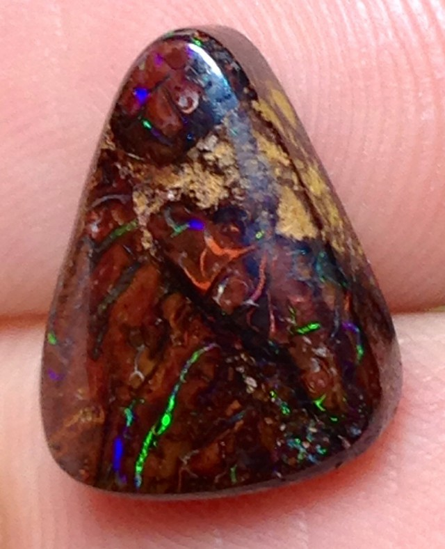 BARGAIN BUY IT NOW Boulder Opal Picture Stone AA686 8cts