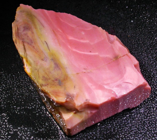 235 CTS PINK OPAL  ROUGH SLAB- WEST AUSTRALIA [VS6558]