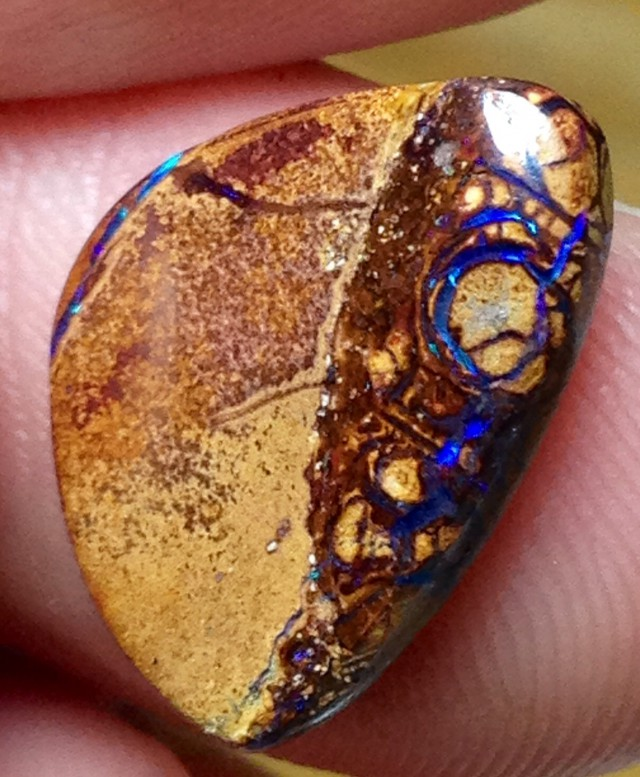 BARGAIN BUY IT NOW Boulder Opal Picture Stone AA717 5cts