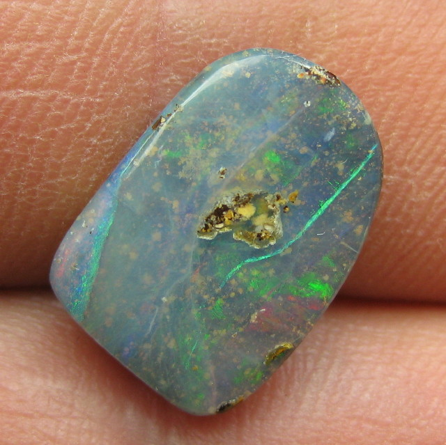 C/O 6cts,LOVELY FLASHY BOULDER OPAL.