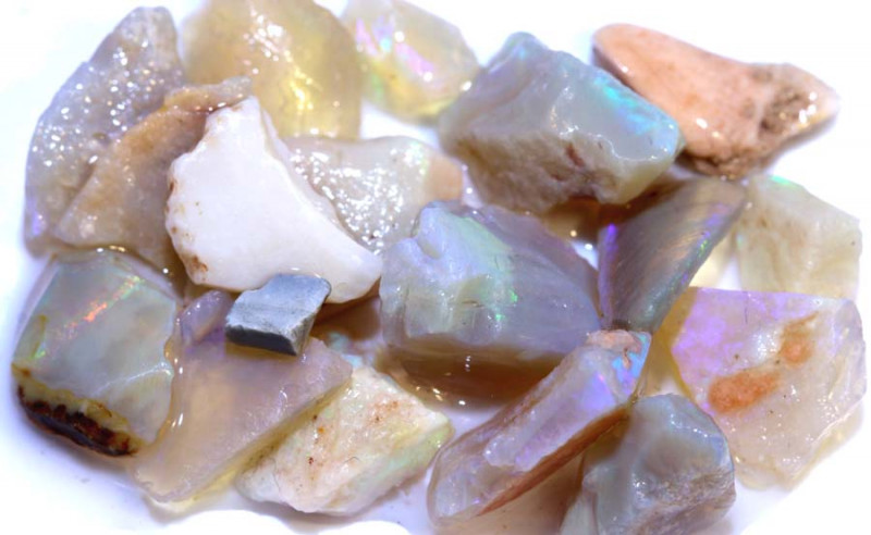 49.20 CTS- CRYSTAL OPAL ROUGH   DT-3408