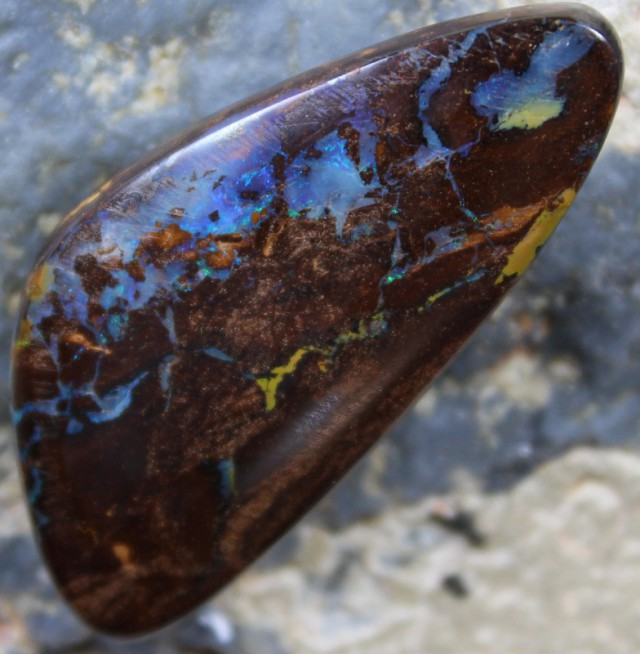 35.95 CTS YOWAH OPAL FROM MINE TOP POLISH STONE