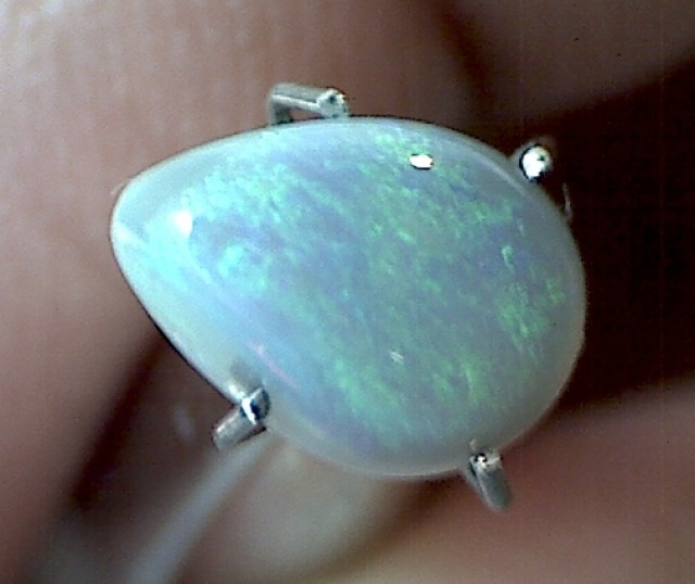 .95 ct Multi Color Crystal Opal, Lightning Ridge, PL42